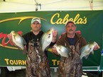 7th Place Amateur: & Place Big Fish: Travis & Randy Neal